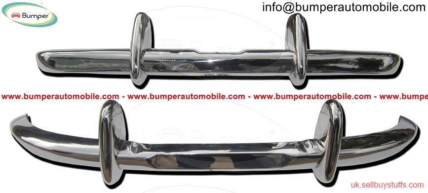 second hand/new: Datsun Roadster Fairlady bumper kit (1962-1970) stainless steel