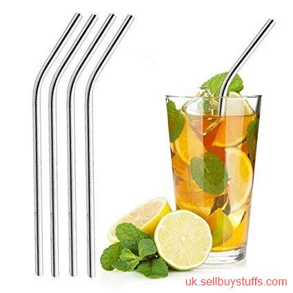 second hand/new: Shop Wholesale Promotional Stainless Steel Straws