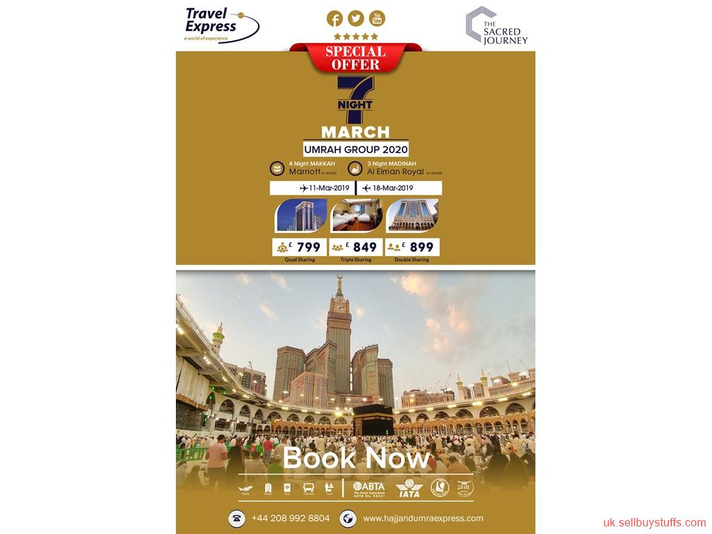 second hand/new: March Umrah Package 2020 with Inclusive