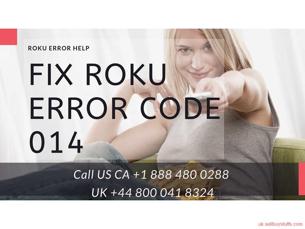second hand/new: Stuck with Roku Error Code 014 Call UK +44 800 041 8324