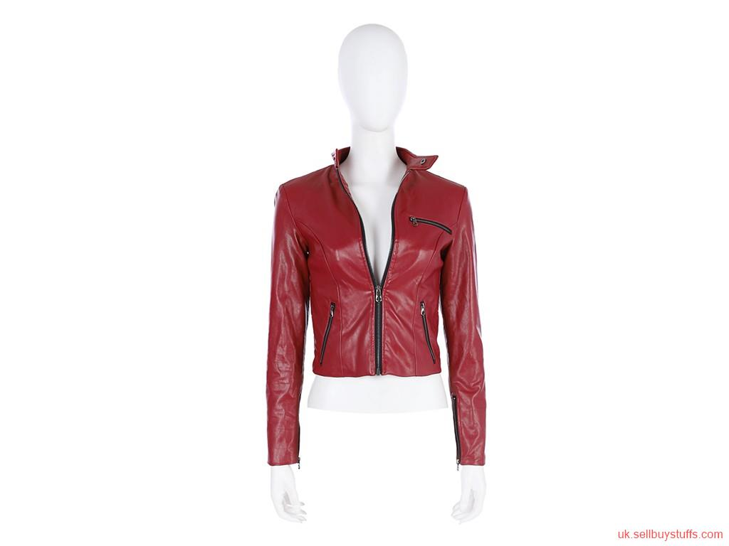 second hand/new: Resident Evil 2 Remake Claire Redfield leather jacket
