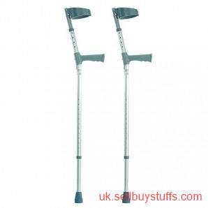 second hand/new: Elbow Crutches - Double Adjustable