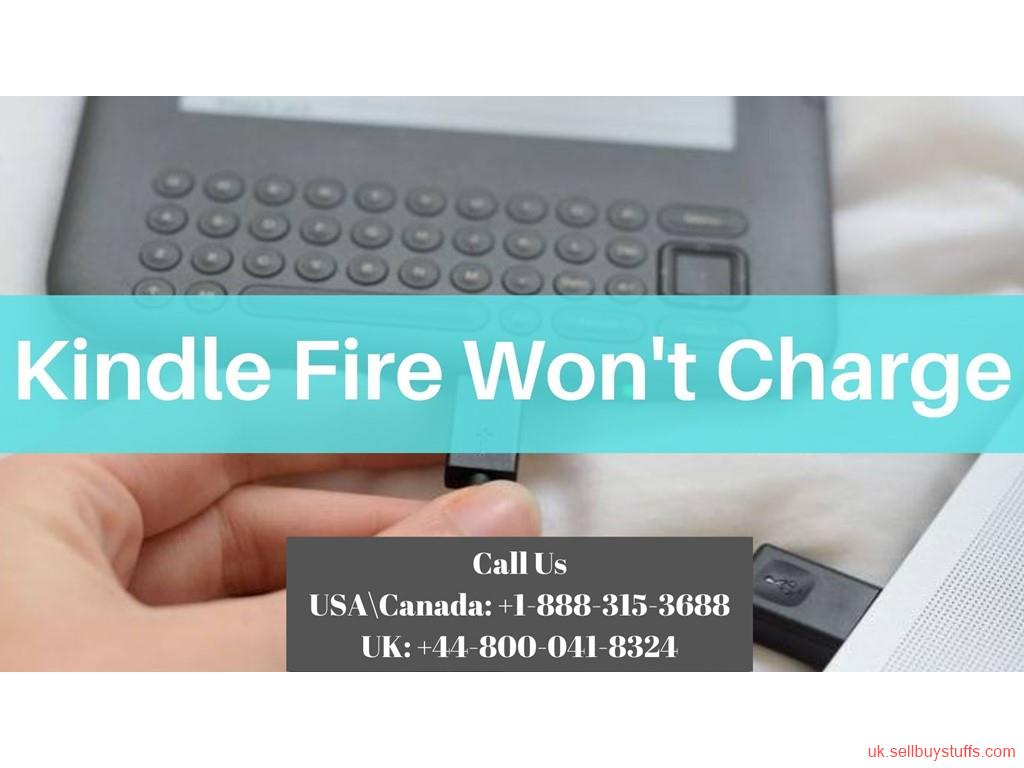 second hand/new: Kindle Won't Charge? Call Kindle Help Guides +44-800-041-8324