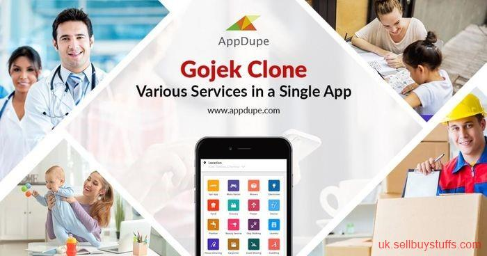 second hand/new: Gojek Clone App: Create on-demand app with app solution