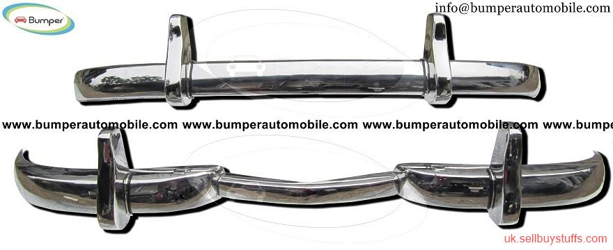 second hand/new: Mercedes W186 300 bumper kit (1951-1957) stainless steel