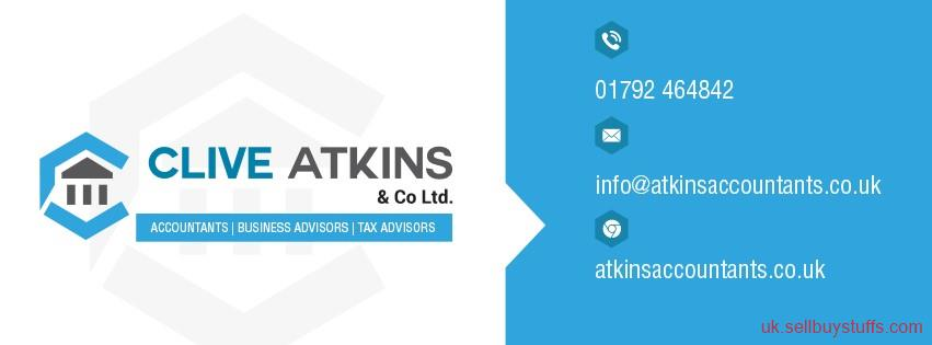 second hand/new: Accountancy Services At  Clive Atkins & Co Ltd