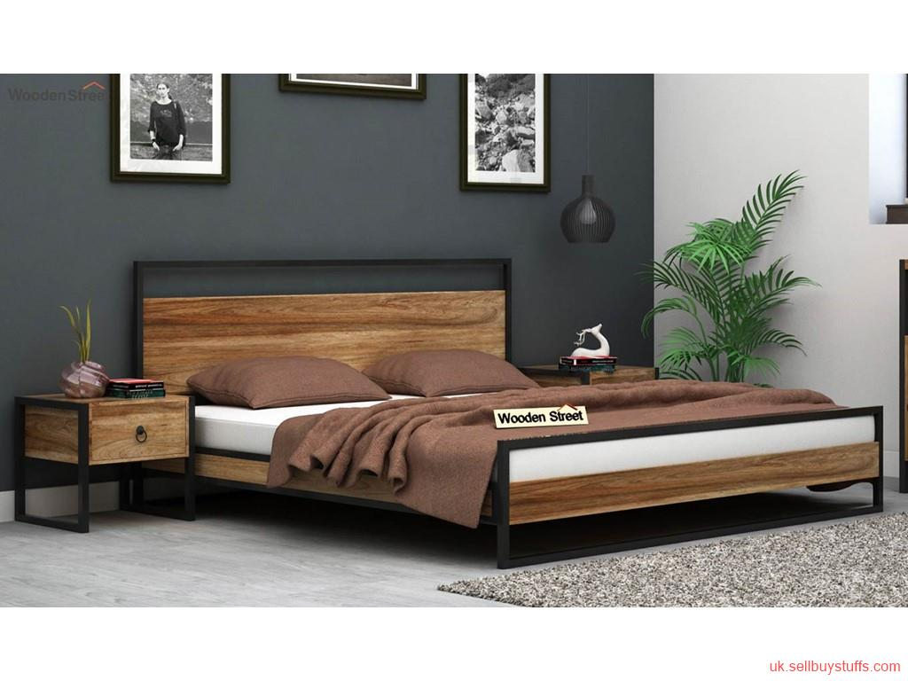 second hand/new: Wooden Double Bed UK - Wooden Street