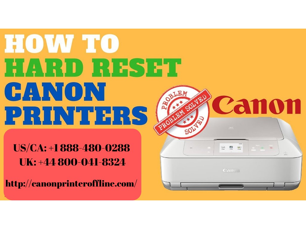 second hand/new: How to Reset Canon Printer? Call the Experts +44-800-041-8324