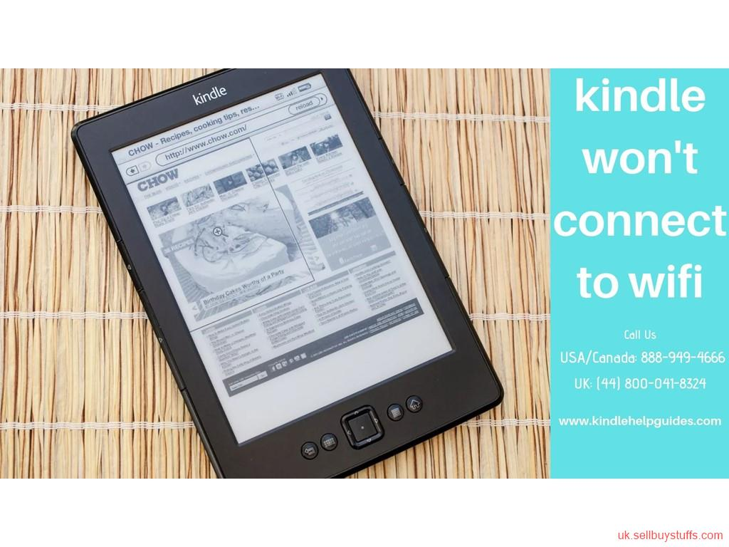 second hand/new: Kindle Help Guide – Resolve Kindle Won't Connect to Wifi Issue
