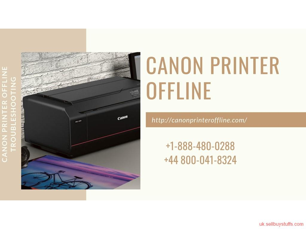 second hand/new: Canon printer is offline | Call +44 800-041-8324 to Fix It Now