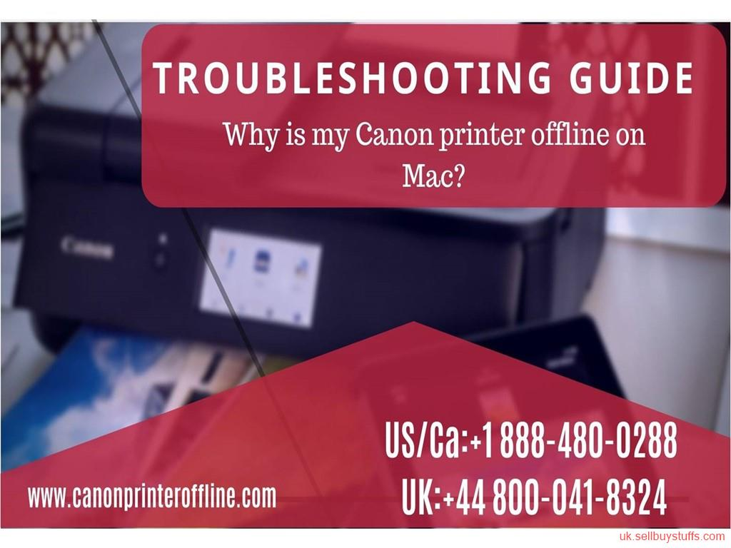 second hand/new: Canon Printer Offline Mac Error | Call Canon Printer Helpline  +44-800-041-8324