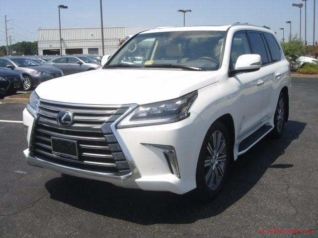 second hand/new: LEXUS LX 570 SUV Gulf Specs 2016 (White)  FOR SALE