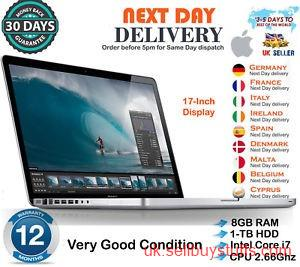 second hand/new:  Refurbished Apple MacBook Pro 17 Inch best Price Laptops At dhammatek