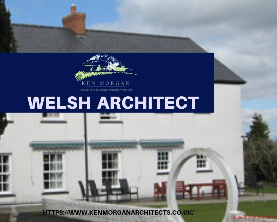 second hand/new: Looking Renowned Architect in Welsh! Contact Ken Morgan!