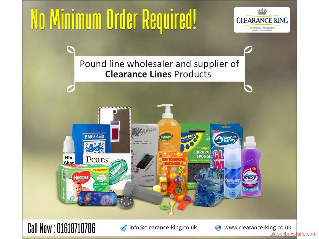 second hand/new: Most Reliable Clearance Line Wholesale Supplier in UK