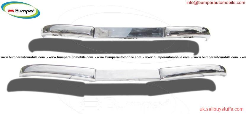 second hand/new: Mercedes  W136 170 Vb bumper kit (1952 – 1953) stainless steel
